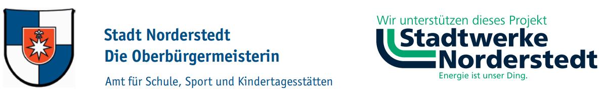 Logos Stadt Norderstedt und Stadtwerke Norderstedt